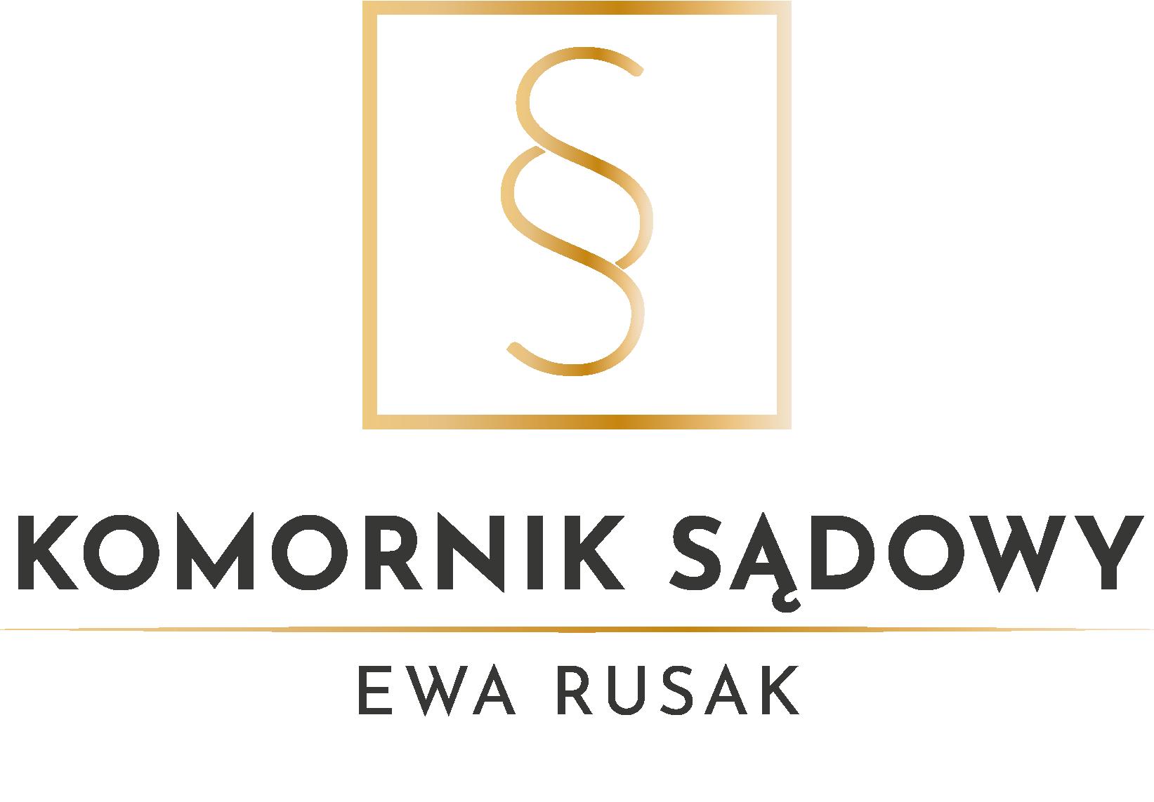 Komornik Ewa Rusak - logo